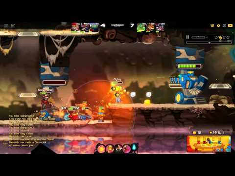 Awesomenauts 2.8.2a Voltar - Nerfed to the Ground
