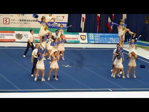 横浜女学院中学校 GAZELLES 4th Asian Junior 2017