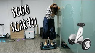 SEGWAY IN THE OFFICE! 😂 | Full day of work vlog