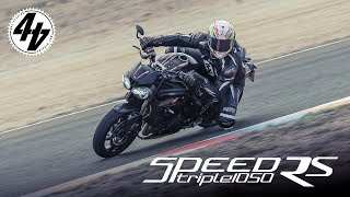 2. 2018 Triumph Speed Triple RS Review