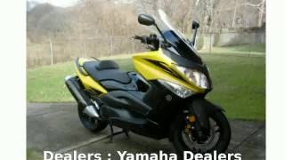 9. 2009 Yamaha TMAX Base  Dealers motorbike superbike Features Engine Specs Top Speed