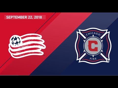 Video: HIGHLIGHTS: Chicago Fire vs. New England Revolution | Sept. 22, 2018