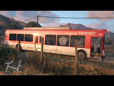 comment prendre le bus dans gta v