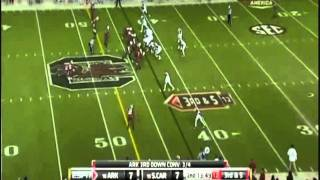 Cobi Hamilton vs South Carolina