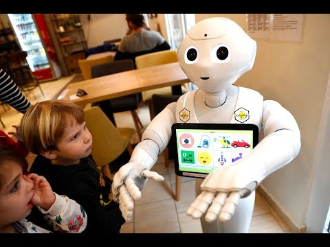 Roboter »Pepper« schmeißt den Laden: Ersetzen Roboter ...