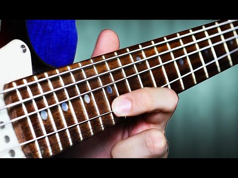 Así suenan unas cuerdas de bajo en una guitarra