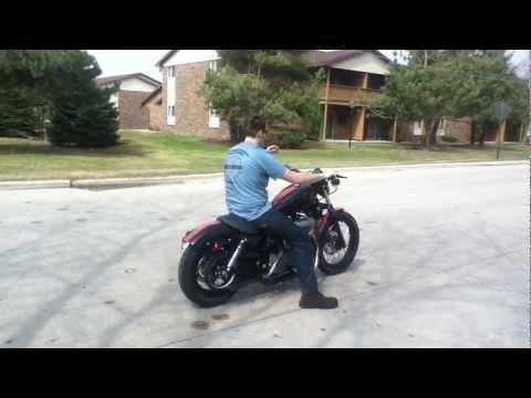 Harley Davidson 1200 sportster nighster no mufflers