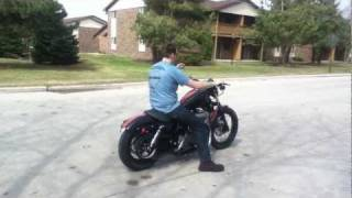 Video Harley Davidson 1200 sportster nighster no mufflers MP3, 3GP, MP4, WEBM, AVI, FLV Juni 2018