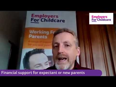 Financial support for expectant or new parents