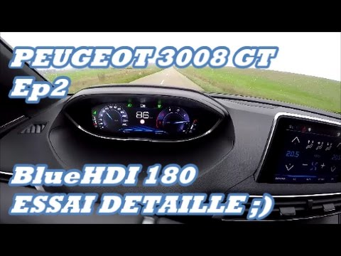 Search result youtube video peugeot 3008 180 hp for Interieur nouveau 3008