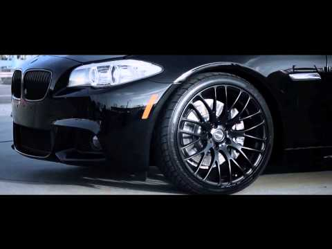 MRR Design Concave Wheels HR6 | BMW 535i