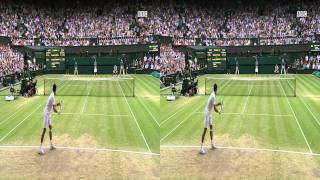 BBC Freeview HD 3D Preview :- Wimbledon 2011