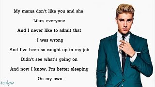Video Justin Bieber - Love Yourself (Lyrics) MP3, 3GP, MP4, WEBM, AVI, FLV Agustus 2018