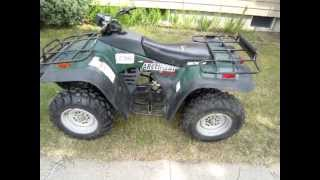 9. 2000 Arctic Cat 300 4x4