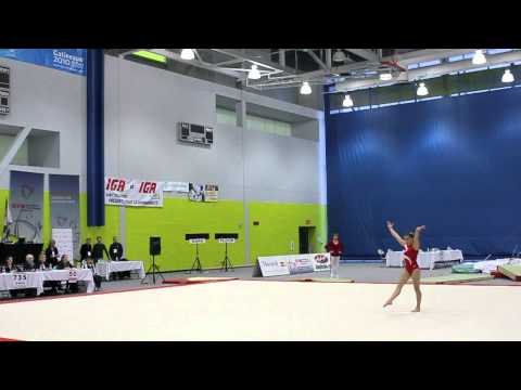 Victoria Moors - Jr. Floor Final - Elite Canada 2010
