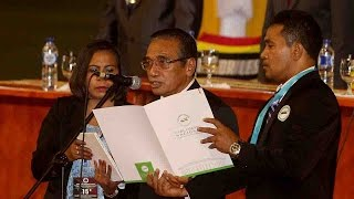 Former resistance fighter Francisco Guterres has been sworn in as Timor-Leste's fourth president. In his inauguration speech, the...