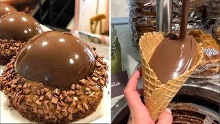 How To Make Chocolate Cake With Step By Step Instructions | Yummy Chocolate Cake Decorating ideas