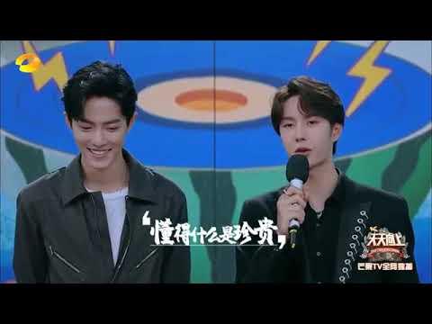 wang yibo's first song for xiaozhan,,,,#wangzhan