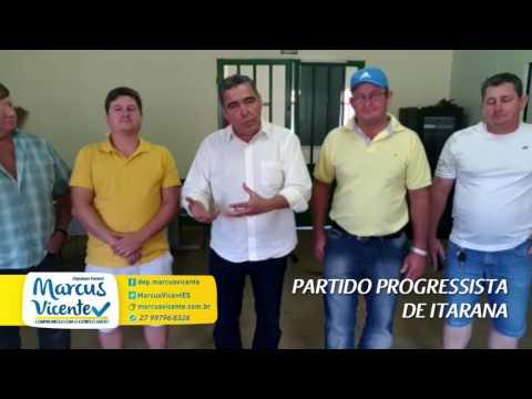 Reunião com a Executiva Municipal em Itarana