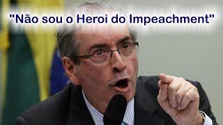 """Eduardo Cunha e seu pronunciamento CompletoEduardo Cunha nega renuncia e delação premiada na lava a jato e diz """"Não sou herói do impeachment"""""""