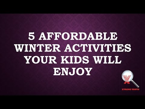 5 Affordable Winter Activities Your Kids Will Enjoy