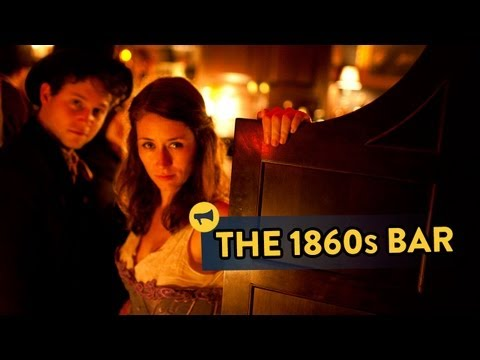'The - We surprised random people by turning back the clock 150 years at a local bar, completely transforming it into 1860s New York. Full story: http://improvevery...
