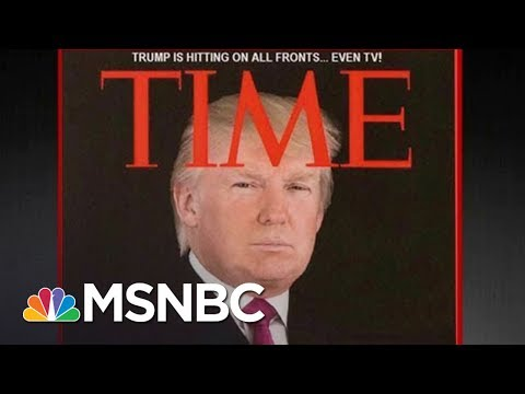 Fake Donald Trump Time Magazine Cover Hangs At Mar-A-Lago | All In | MSNBC