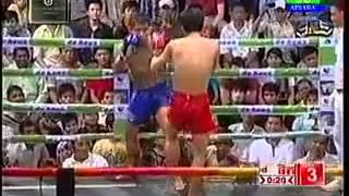 Khmer Boxing Boxing Bettween Yen Dina Cambodia And Chhratnakchhei Thailand