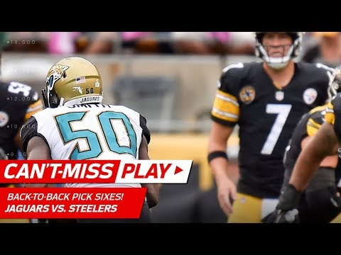 Video: Jaguars Get Back-to-Back Pick Sixes! | Can't-Miss Play | NFL Wk 5 Highlights