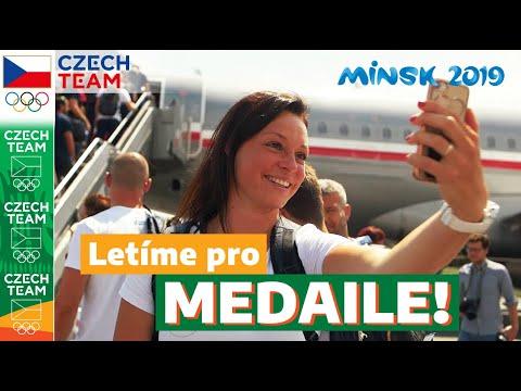 Evropské hry 2019: Letíme pro medaile!
