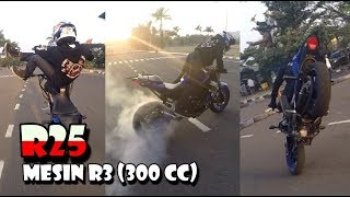 Video GassPoll Freestyle pake R25 Mesin R3 300cc Sangar Abis MP3, 3GP, MP4, WEBM, AVI, FLV Maret 2019