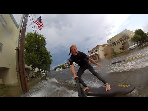 Street Surfing In New Jersey