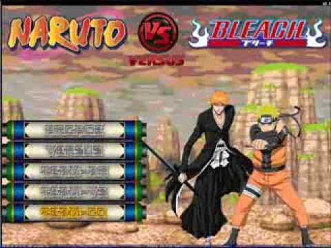 Naruto vs bleach скачать