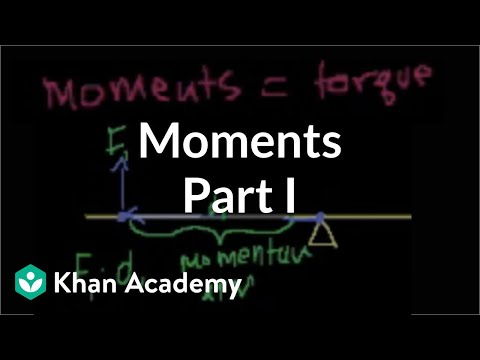 moments - Learn more: http://www.khanacademy.org/video?v=ESusD8HRLBI Introduction to moments.
