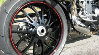 9. Triump Speed Triple 1050 15th Anniversary Special Edition mit Race Cans (TORS)