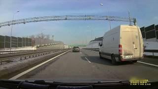 Furiat w Mercedesie atakuje kierowcę na S-1 w Bielsku-Białej