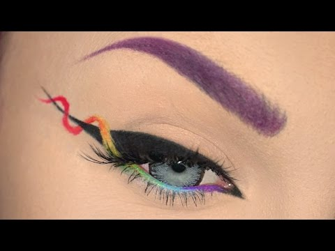 Helix Eyeliner Makeup Tutorial !