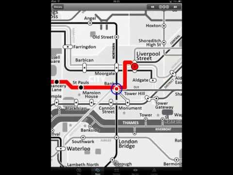 Video of Tube Map London Underground