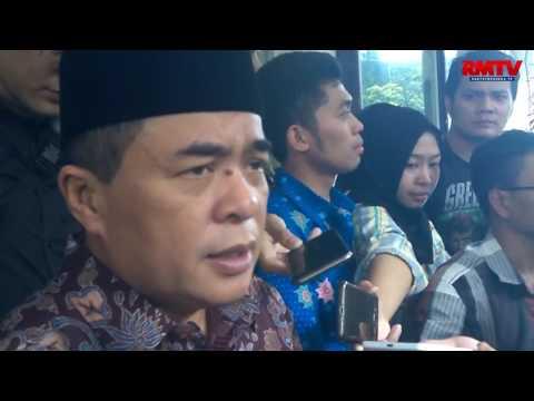 Pimpinan DPR dan MPR Jadi Pedagang Daging Murah