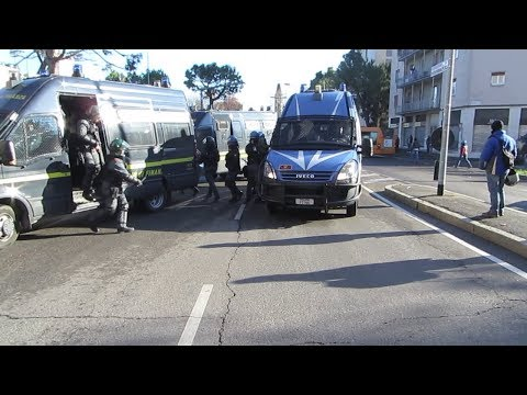 ultras roma arrivano a bergamo