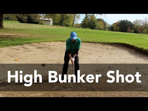 How to Hit a Bunker Shot High | Golf Instruction | My Golf Tutor