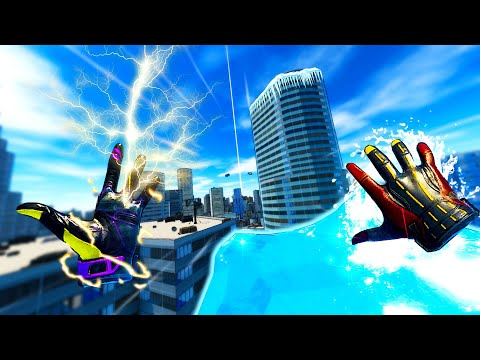 ICEMAN ABUSES HIS Powers to FREEZE THE CITY in Superfly VR