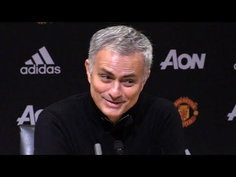 Manchester United 2-2 Burnley - Jose Mourinho Post Match Press Conference - Premier League #MUNBUR (видео)