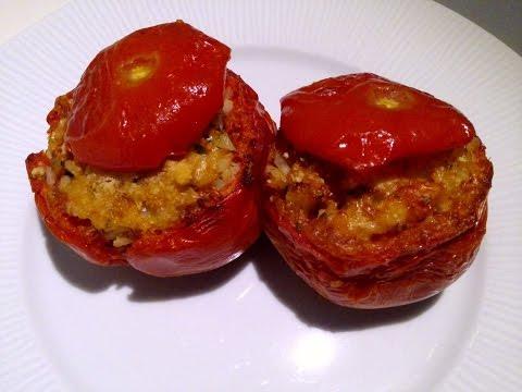 pomodorini ripieni di cous cous senza cottura - ricetta