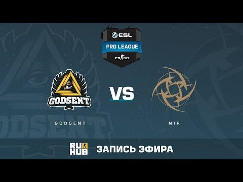Twitch - GODSENT vs NiP - ESL Pro League S6 EU - de_cobblestone [yXo, Enkanis]