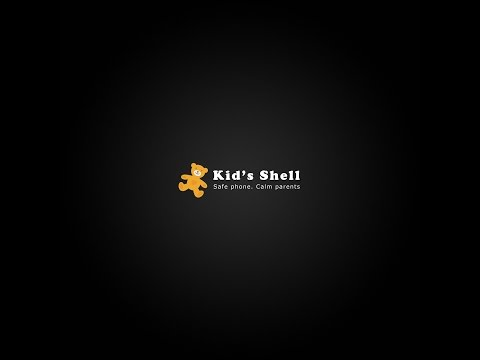 Video of Kid's Shell - safe launcher