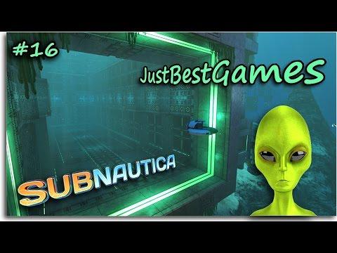 Subnautica - БАЗА ПРИШЕЛЬЦЕВ - ОГРОМНАЯ ПУШКА! (ОБНОВЛЕНИЕ - Precursor update) (видео)