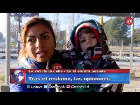 La voz de la calle - Obras en calle Deán Funes esq. Independencia