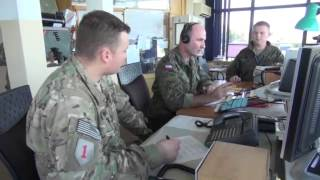 Miroslawiec Poland  city photo : US Forces Train with Polish Air Traffic Controllers