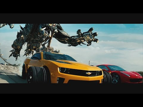 Transformers: Dark of the Moon (2011) - Freeway Chase - Only Action [4K] - Thời lượng: 3:53.